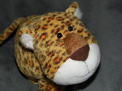Russ Leopard Cheetah Soft Toy Orange Brown Plush 34207 Doudou