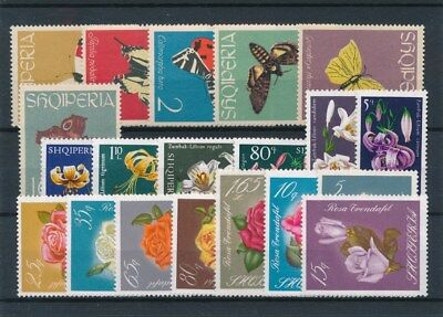 [91514] Albania Fauna/Flora good lot Very Fine MNH stamps