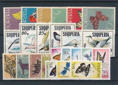 [91525] Albania Fauna/Flora good lot Very Fine MNH stamps