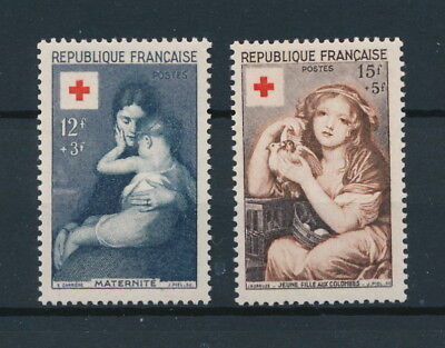 [91899] France 1954 Red Cross good set Very Fine MNH stamps