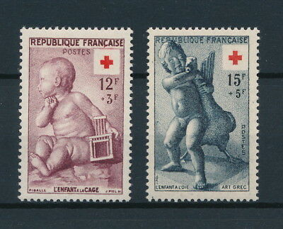 [91900] France 1955 Red Cross good set Very Fine MNH stamps