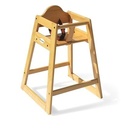 Foundations Classic Wood High Chair - Natural Finish