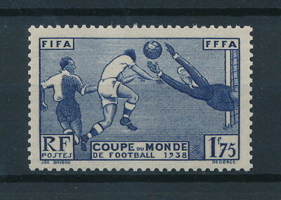 [92525] France 1938 Football good stamp Very Fine MNH Value $40