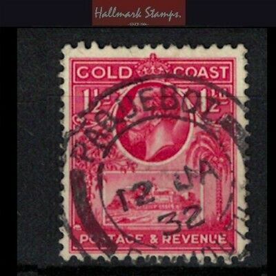 Gold Coast stamp Paquebot cancel - George V era used sg105 - clean cancel