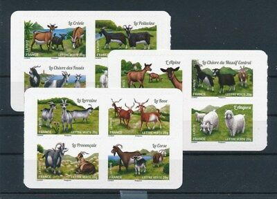 [92793] France Farm Animals good set Very Fine Adhesive stamps