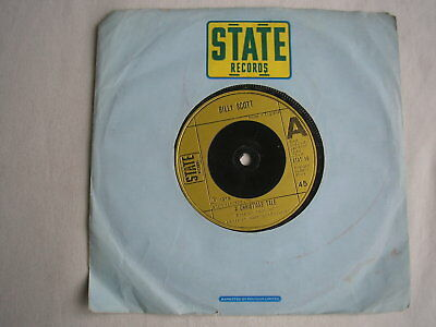 "BILLY SCOTT A Christmas Tale UK 7"" single 1976 ex+"