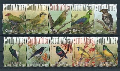 [93006] South Africa Birds good set Very Fine MNH stamps