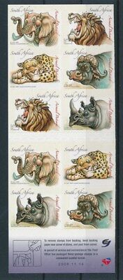 [93009] South Africa good complete booklet Very Fine Adhesive