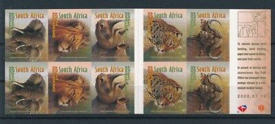 [93072] South Africa Fauna good complete booklet Very Fine Adhesive