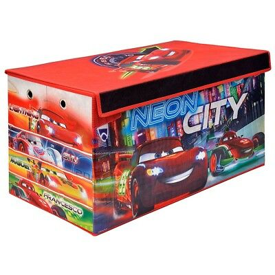Disney Cars - Foldable Soft Storage Bench