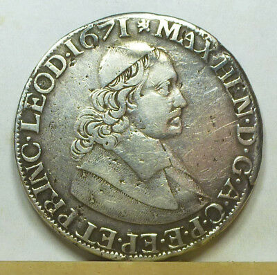 Belgium Liege Patagon 1671 Fine + Condition