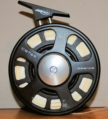 Airflo CST Balance Fly Reel - CST69 with Case and Four Line Filled Spare Spools