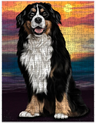 Bernese Mountain Dog Puzzle with  Tin (252 pc.) a413