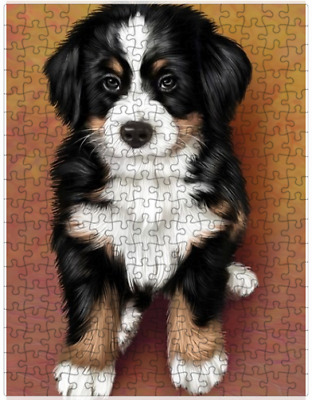 Bernese Mountain Puppy Dog Puzzle with  Tin (252 pc.) a421
