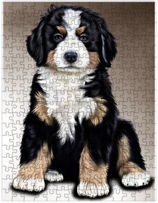 Bernese Mountain Dog Puzzle with  Tin (252 pc.) a416