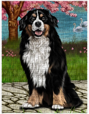 Bernese Mountain Dog Puzzle with  Tin (252 pc.) a411