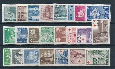 [93781] Finland good lot Very Fine MNH stamps