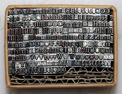 10pt Times Part Font.. Metal  letterpress Type # ADANA EIGHT FIVE  8 x 5 user
