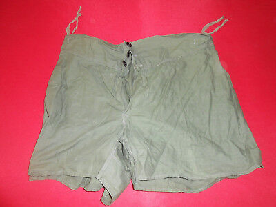 G. Britain Army : 1945 Wwii  Underpants  Boxer - Shorts Militaria