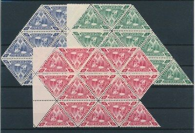 [G91551] Ethiopia 13 good sets Very Fine MNH stamps