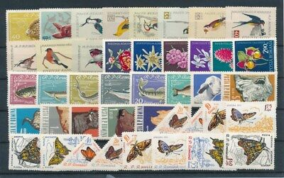 [G91616] Romania Fauna/Flora good lot Very Fine MNH stamps