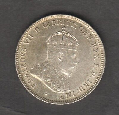 Australia 1910 Shilling Super Condition Edward 7Th Superb Auction Starts At £1
