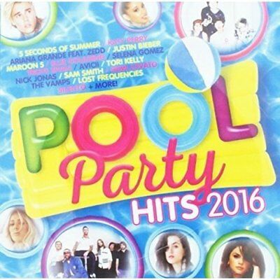 Pool Party Hits 2016 Various Artists Audio CD