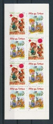 [G92118] France 2002 Boule & Bill good complete booklet Very Fine MNH