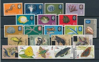 [G92183] Barbados Fauna good lot Very Fine MNH stamps