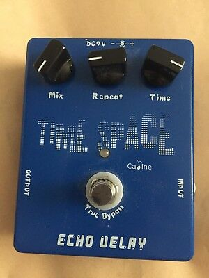 Cadine Time Space Echo Guitar Delay Pedal - No Reserve!  Grab A Bargain!