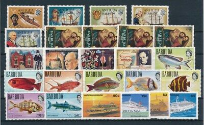 [G92213] Barbuda good lot Very Fine MNH stamps