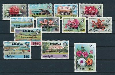 [G92215] Barbuda good lot Very Fine MNH stamps