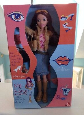 2002 My Scene Chelsea Barbie Doll NRFB