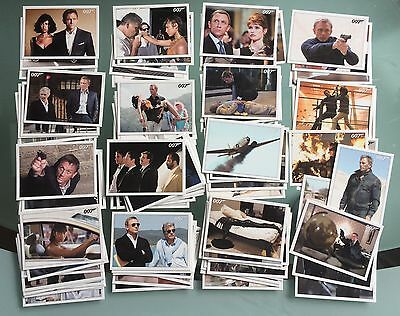 James Bond Archives 2015 - Quantum of Solace Base Set 90 Karten mit Daniel Craig