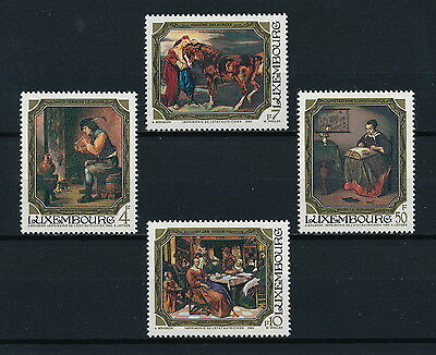 Luxembourg 710-13 MNH, Paintings 1984