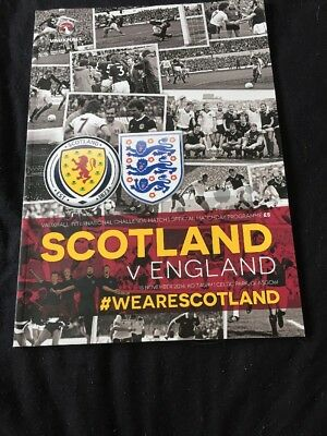 Scotland V England 18th November 2014 International Friendly
