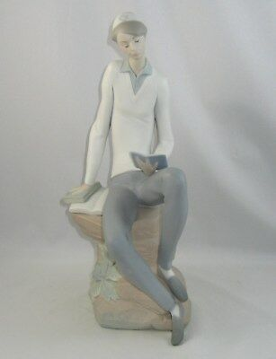 "Lladro Figurine 4684 ""HEBREW STUDENT"" Issued 1970 / Retired 1985"