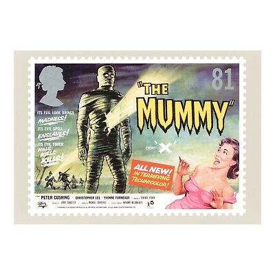 Christopher Lee - The Mummy Hammer Horror Film Poster Advert - Phq 312 Postcard
