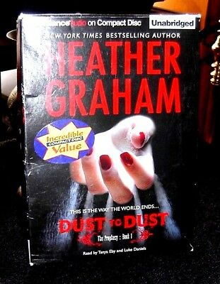 Dust to Dust The Prophecy Book1 by Heather Graham / Eby Unabridged Audiobook CDs