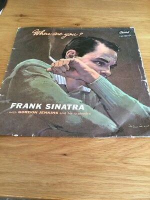 Frank Sinatra Where are you ? Capitol Records Vinyl LP