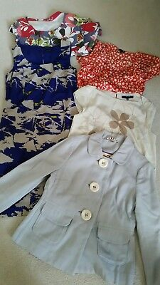 bundle of clothes Jaeger and Boden 10 &12 top jacket dress 5 items .