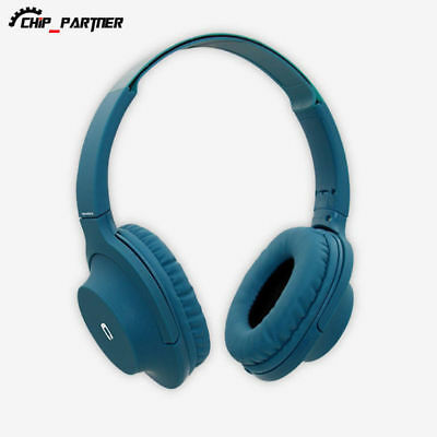 Foldable Wired Headphones with Microphone Bass HiFi Music Stereo Headset