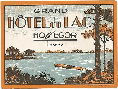HOTEL DU LAC luggage LANDES label (OSSEGOR)