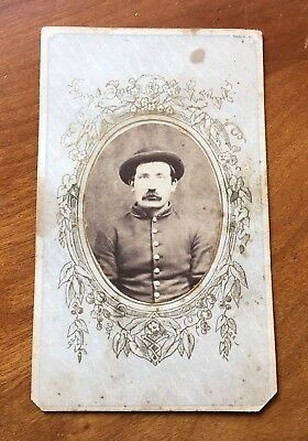CDV of Union Soldier Civil War