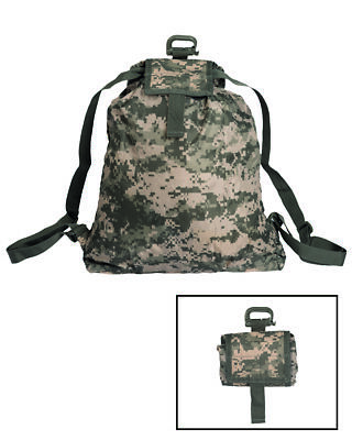 Roll-Up Rucksack At-Digital Rucksack Trekking Outdoor Military Wandern Camping