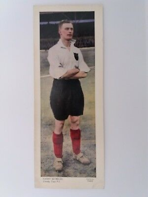 TOPICAL TIMES LARGE COLOUR 1930s PHOTO ~ GRIMSBY TOWN ~ HARRY BETMEAD