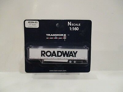 Trainworx N Scale - 53' Trailer - Roadway - New