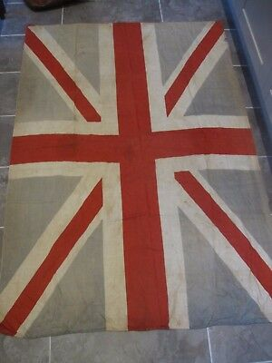 HUGE Boer war WWI WW1 World war one Union Jack British military flag 1.7 metres