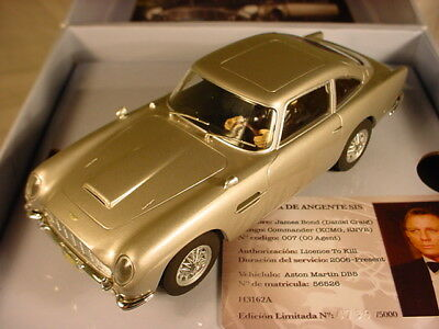 Scalextric Superslot Aston Martin DB5 Bond 007 Casino Royal C3162A 2nd of 3 MB