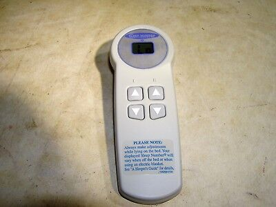 Used Sleep Number Select Comfort Wireless Remote UFCS3 LPM-1000E for Replacement